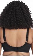 Goddess Kayla banded bra black confetti